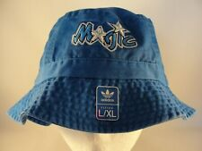 Orlando Magic NBA Adidas Throwback Logo Bucket Hat Size L/XL Blue
