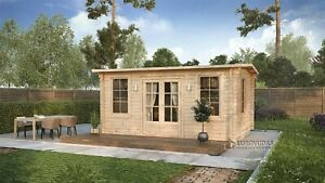 DON'T MISS OUT! IN STOCK! Log cabin ROME 5x3 m/Free delivery*