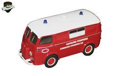 13c Corgi Heritage 70627 Peugeot D3a Pompiers Ouroux 1 43