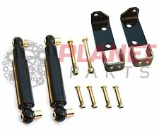 Caravan Trailer Shock Absorber Suspension Kit Oil Shocks Shockers Hanger Bracket