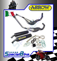 SUZUKI RGV 250 GAMMA 1991 > 1995 SCARICHI ARROW STREET 2T ROUND SIL CARBONIO