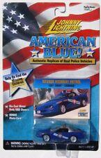 JOHNNY LIGHTNING  R4 AMERICAN BLUE '97 CHEVY CAMARO NEVADA HIGHWAY PATROL RR