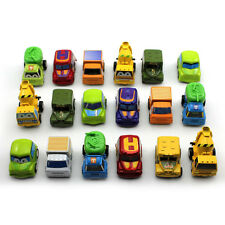 6Pcs/set Mini Pull Back Model Plastic Car Truck Vehicle Toys For Baby Kid Child