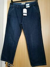 Seasalt Ladies Cropped 7/8 Jeans, Viburnum Mid Indigo, Size 20 NEW WITH TAGS