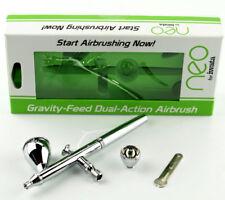 NEW Iwata Gravity Feed Dual Action Airbrush Set N 4500 IWAN4500
