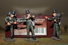 W. Britain Napoleonic 17255 British 95th Foot, Rifle Brigade, 3-Figures