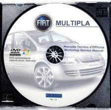 DVD MANUALE OFFICINA FIAT MULTIPLA 1.6 16V .- 1.9 JTD- BIPOWER-BLUPOWER-GPL -VAN
