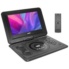 13,9 Tragbarer DVD Player Auto Portabel USB Fernbedienung LCD Drehbar