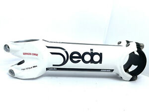 Deda Zero 100 White Stem 130mm / 82 Degree (No Steerer Clamp Screws)