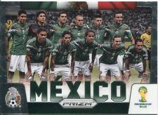 Panini Prizm Wold Cup 2014 Team Card #25 Mexico