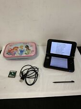 Nintendo 3DS XL Video Game Console Red - Game. Case. Stylus. Usb Cable.
