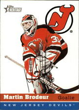 2000-01 Topps Heritage Hockey Cards Pick From List