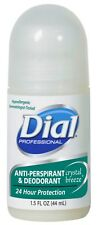 Dial Professional Roll oN ANTI PERSPIRANT & DEODORANT Crystal Breeze 1.5oz 07686