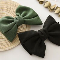 Women Girls Knotted Butterfly Hair Clips Barrette Spring Clips Bow Hairpin