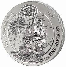 50 Francs Nautical Ounce Endeavour Ruanda Rwanda 1 oz Silber Silver BU 2018