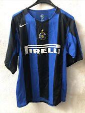 Maglia Shirt Calcio Inter Milan 90s Pirelli Nike Tg L Ottima