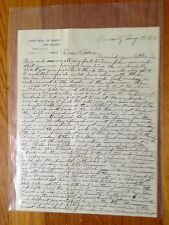1913 Letter from Momma to Kiddies back home Biarritz France Lourdes Joan D'Arc