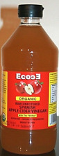 ORGANIC RAW UNFILTERED APPLE CIDER VINEGAR (WITH THE MOTHER) 568ML