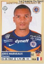 302 JORIS MARVEAUX # MONTPELLIER.HSC STICKER PANINI FOOT 2015