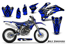 YAMAHA WR250F WR450F 2007-2011 GRAPHICS KIT CREATORX DECALS BTBL