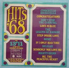 MUSIC FOR PLEASURE ~ HITS '68 ~ UK 12-TRACK STEREO LP RECORD ~ MFP 1226 [Ref.2]