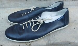 Leather sneakers walking shoes French Mephisto shoes air jet size 7.5 us