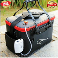 Bag Fishing Rod Storage Case Tackle Pole Reel Carry Portable Organizer Carrier