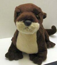"AURORA DESTINATION NATION BROWN RIVER OTTER 18"" PLUSH STUFFED ANIMAL DOLL TOY"