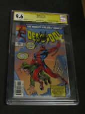 Deadpool 11 CGC 9.6 SS Stan Lee Signed Amazing Fantasy 15 homage cover