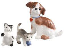 Hummel Puppy Dog & Kittens NIB 828038 Hummel Porcelain Accessory Collection