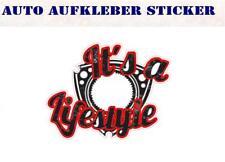 Wankel is a Lifestyle RX7 RX8 Mazda Bunte Sticker Aufkleber Digital JDM Style