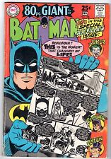 Batman #198, Very Good - Fine Condition.