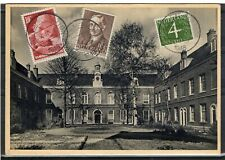 NETHERLANDS = 1948 Used PPC to AURORA, ILL. `HAARLEM STATION` cancel. (j)