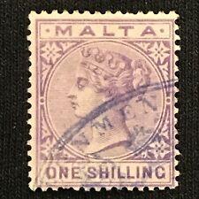 Malta SC #13 Used 1885