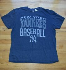 New Men's NY Yankees baseball blue t-shirt (XL) by Genuine Merchandise