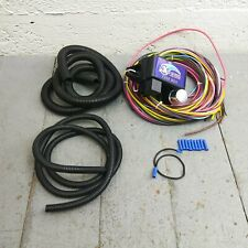 18 Circuit Universal Wire Harness rat rod street rod hot rod (Fits: Dodge Lancer)