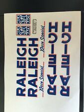 Raleigh Milk Race Bicycle Decal Set