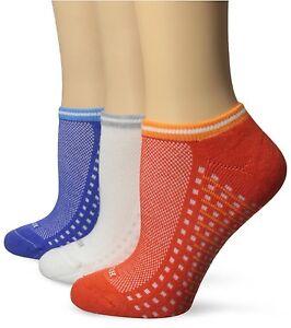 3-pk HUE Sole Stripe Women's Mediterranean Air Cushion No Show Fashion Socks $21