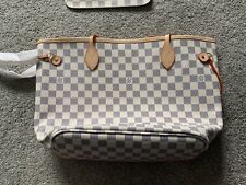 Luis Vuitton Neverfull Tote Bag, With Smaller Bag Included - New