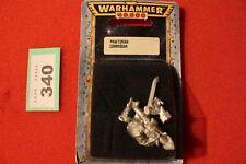 Games Workshop Warhammer 40k Praetorian Commissar with Power Sword New BNIB OOP