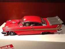 1:24 Danbury Mint 1958 Plymouth Fury Professionnel de la Rue Machine - Rare