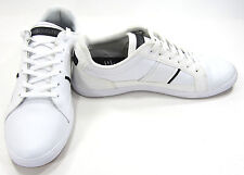 LaCoste Shoes Europa Croc 147 White/Black Sneakers Size 9