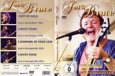 Jack Bruce - DVD - City Of Gold - Live Performances 91+01 v. 2010 - NEU & OVP !