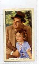 (Js385-100) Gallaher,Film Episodes,Our Little Girl,1936 #5