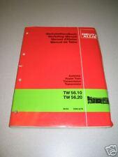 Deutz Allis TW56.10 & TW56.20 Service Manual