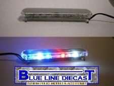 1/18 Flashing LED Police Low Profile Lightbar GEN I #07 Custom Diecast Model