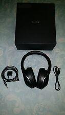 Sony MDR-1000X Wireless Bluetooth Noise Canceling Headphones Black