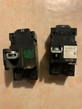 Circuit Breaker Bulldog Pushmatic P120 20 Amp 1 Pole 120/240V Plus P115 15 Amp