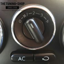 For VW New Beetle 98-10 Aluminium Surround Chrome Trim Ring For Light Switch New