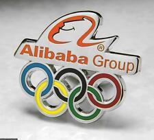 OLYMPIC PINS BADGE 2018 PYEONGCHANG SOUTH KOREA ALIBABA GROUP SPONSOR RINGS